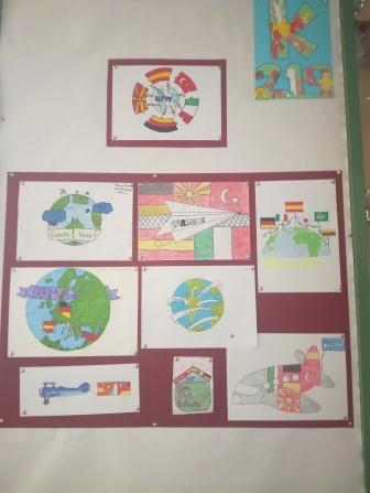 Diseño de logos por los alumnos