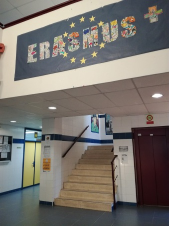 Hall principal I.E.S Cañada Real